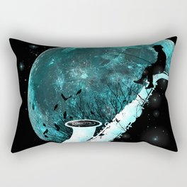 Catching Tunes Rectangular Pillow