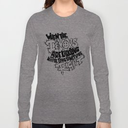 Demon Quote Long Sleeve T-shirt