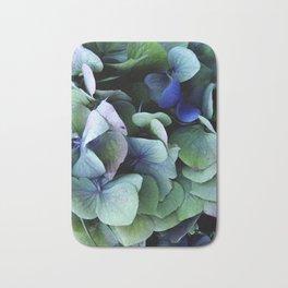 blue hydrangea Badematte