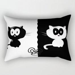 Catch the mouse Rectangular Pillow