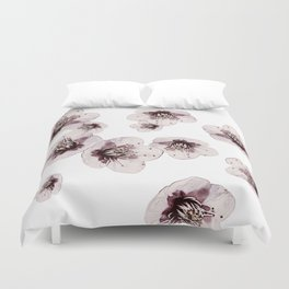 Hana Collection - Falling Sakura Duvet Cover