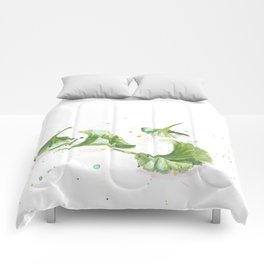 Ginkgo leaves Comforters