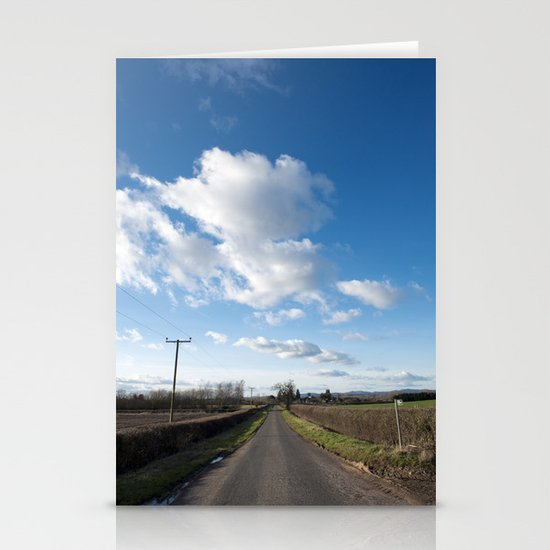 many miles of sky... Stationery Cards