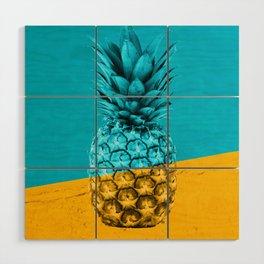 Pineapple Retro Wood Wall Art