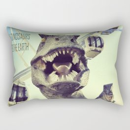 He might bite! Rectangular Pillow