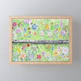 Voice of Silver Framed Mini Art Print