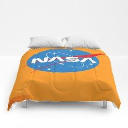 "NASA Enlist! Become an Astronaut ""Travel to Mars"" Comforters"