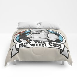 May the BBQ be with you Comforters
