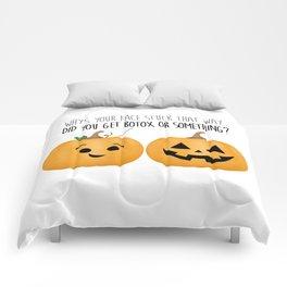 Pumpkin Botox Comforters