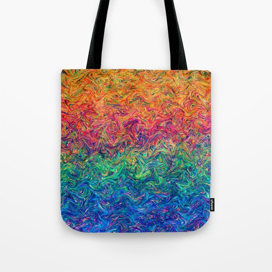 Fluid Colors G249 Tote Bag