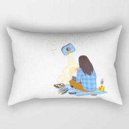 Tiny mountain Rectangular Pillow