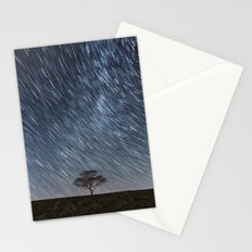 Trailing Stars Above Stationery Cards