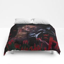 Faceless Freddy Comforters