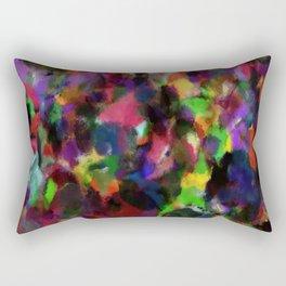 Abstract Colors Rectangular Pillow