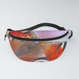 Beautiful Peacock Butterfly Fanny Pack