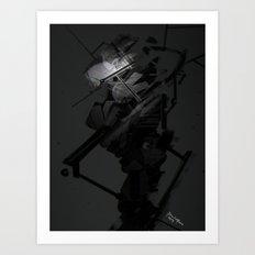 Darkfall Tech Zero Degree Art Print