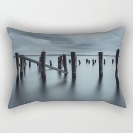 Pier of the Past Rectangular Pillow