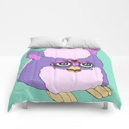 Purple Furby Comforters