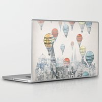 dream catcher Laptop & iPad Skins featuring Voyages over Edinburgh by David Fleck