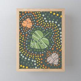 Autumn fest Framed Mini Art Print