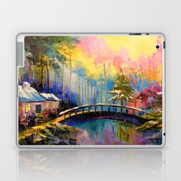 House in the woods Laptop & iPad Skin
