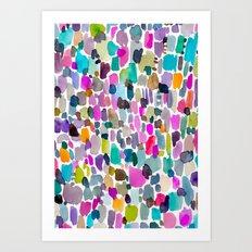 Color Party Art Print