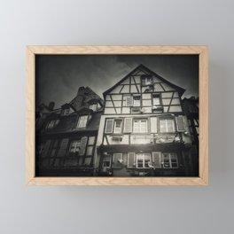 Fachwerk Framed Mini Art Print