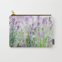 Lavender in summer garden Carry-All Pouch