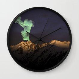 Silverthorne Smoke Signal Wall Clock