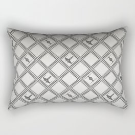 X Wing TIE Fighter Pattern Rectangular Pillow