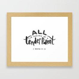 1 Nephi 8:37 Framed Art Print
