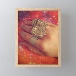 Bling Ring Framed Mini Art Print