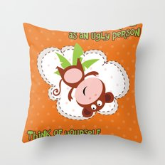 Monkey Throw Pillow