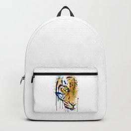 Half Faced Tiger Backpack