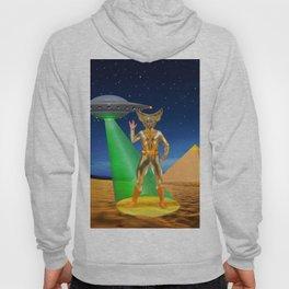 Ancient Vulcan Space Alien Hoody