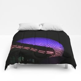 The Golfball at Night Comforters