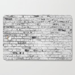 Withe brick wall Cutting Board