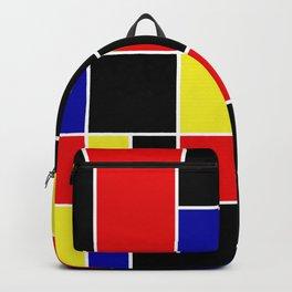 Mondrian #49 Backpack