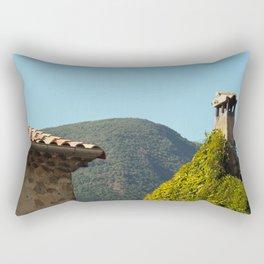 When the bottom shows the top Rectangular Pillow