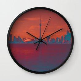 CN Tower skyline Wall Clock