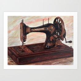 The machine II Art Print