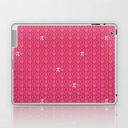 Hugs, Kisses, Love, and Pi - Pink  Laptop & iPad Skin