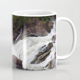 Mekong River Li Phi Waterfalls, Laos Coffee Mug