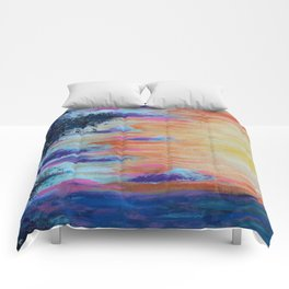 Cosmic expansion Comforters