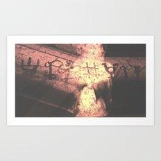 Series of a Human Symbol Art Print