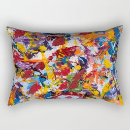 Crippled thoughts Rectangular Pillow
