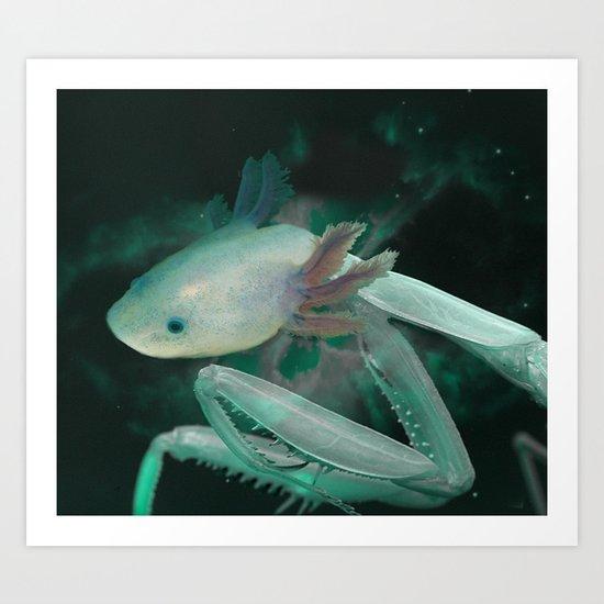 Axolante Art Print