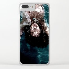 Sienna - Natural pool Clear iPhone Case