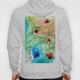 Earthy Abstract - Dance Party - Sharon Cummings Hoody