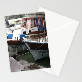 Caunos Riverboats at Dalyan Stationery Cards
